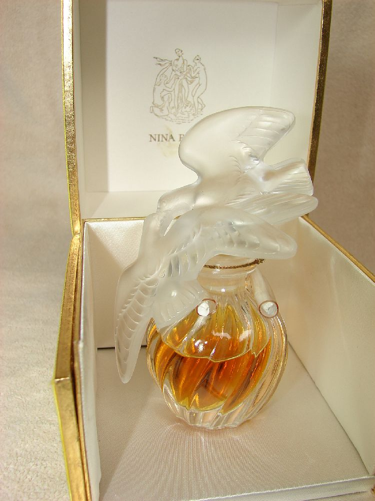 Vintage 1oz Nina Ricci L Air Du Temps Parfum In 4 Double