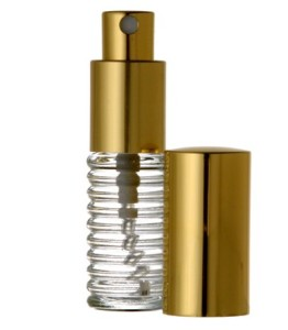 .25 Oz Glass Atomizer for Decanting Perfume Samples