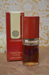 Discontinued Estee Lauder Cinnabar Fragrance Sample Decant