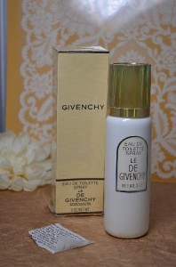 Rare Le de Givenchy Eau de Toilette Spray 3 Oz - New in Box